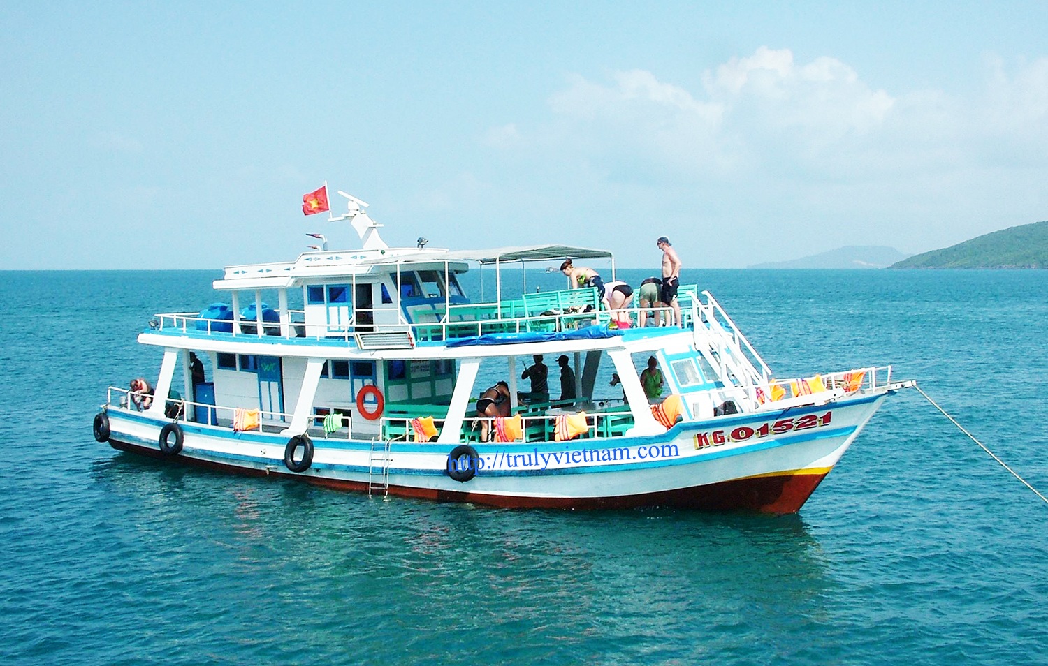 Boat Trip To the North of Phu Quoc